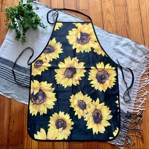 Sunflower Kitchen Apron